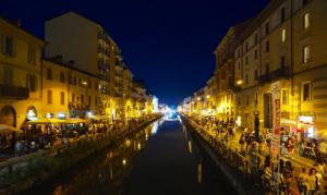 Nightlife in Naviglio Grande